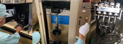 あらゆる組立部品に対応する検査・試験設備