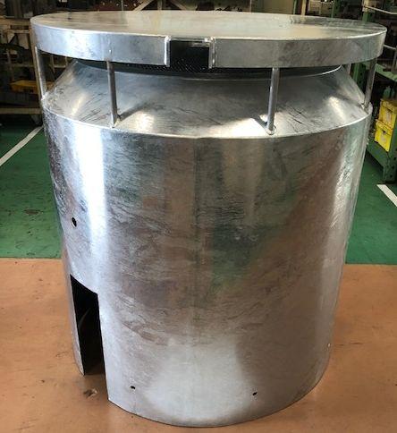 工場排気口ファンカバー