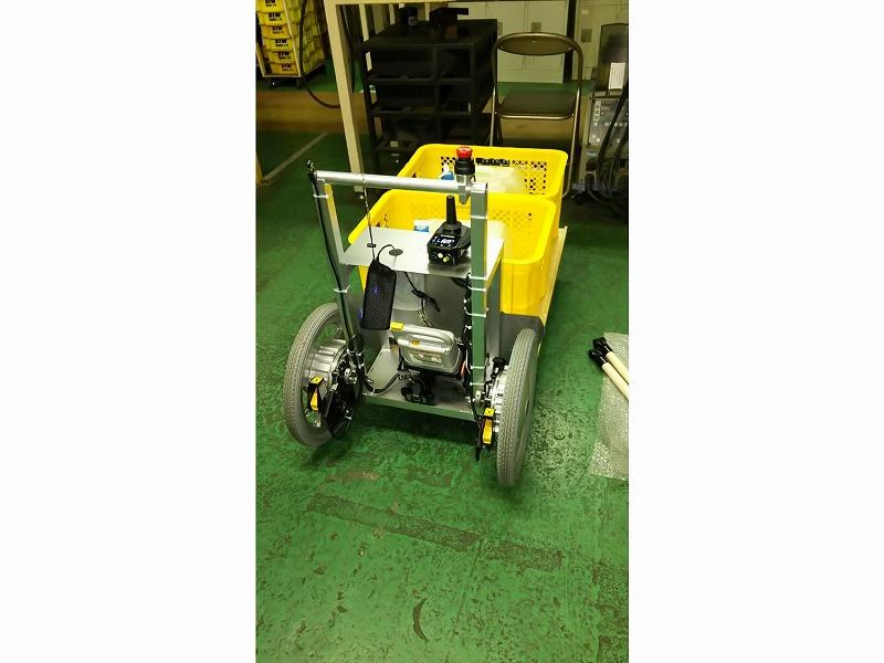 農業用搬送ロボット